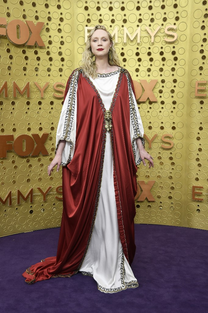 Gwendoline Christie attends the 71st Emmy Awards at Microsoft Theater on September 22, 2019 in Los Angeles, California. Photo by Frazer Harrison/Getty Images/AFP