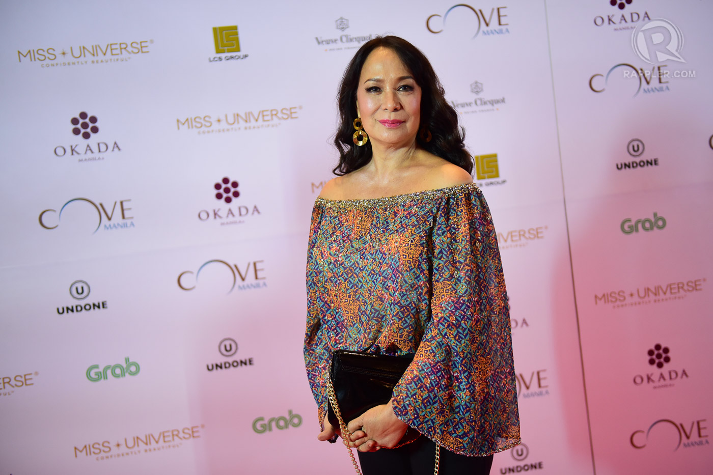GLORIA DIAZ. Miss Universe 1969 at teh 2016 pageant's after-party. Photo by Alecs Ongcal/Rappler