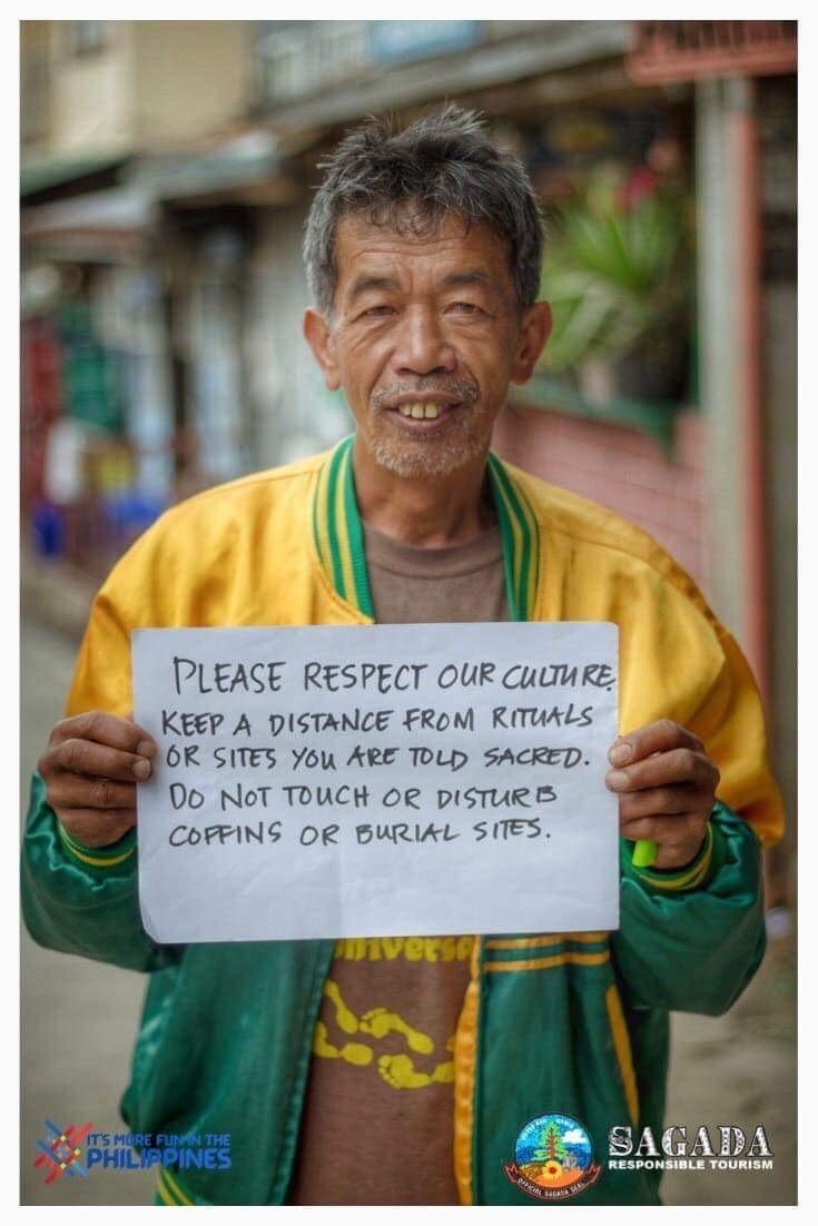 Photos courtesy of the Sagada Responsible Tourism Facebook page