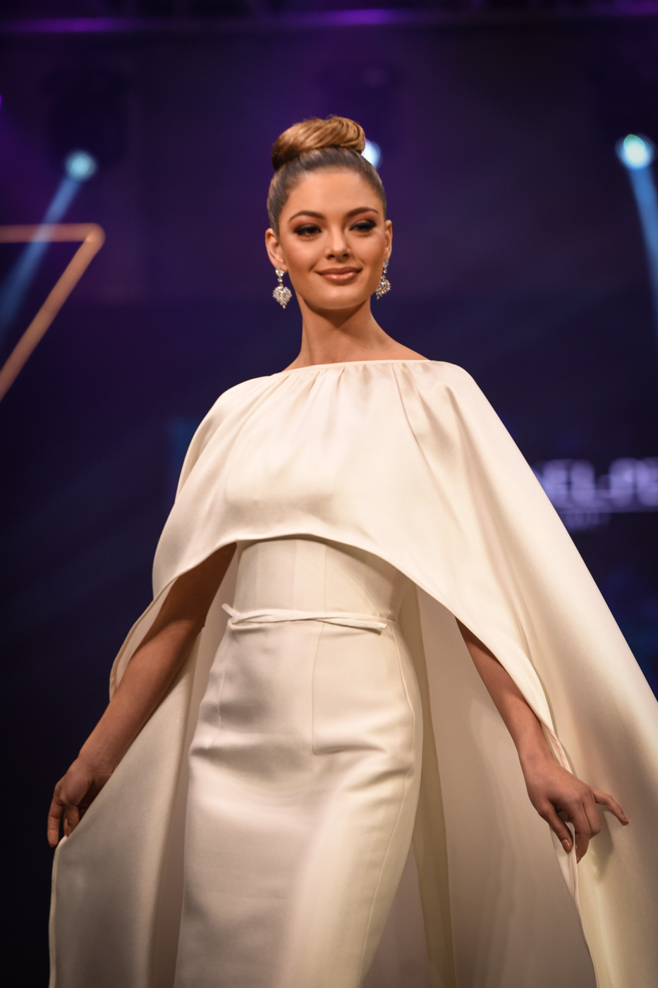 Miss Universe 2017 Demi-Leigh Nel-Peters in a Rajo Laurel creation