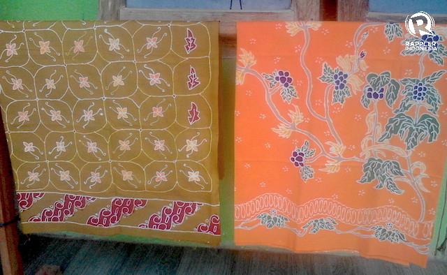 CORAK. Corak unik batik Pasuruan. Foto oleh Syarifah Fitriani/Rappler