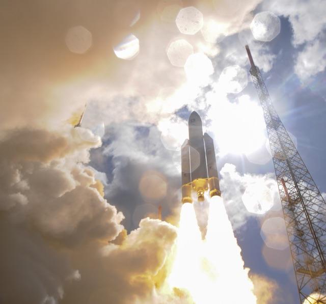 Liftoff of Ariane flight VA233, carrying 4 Galileo satellites, from Europe's Spaceport in Kourou, French Guiana, on 17 November 2016. ESA/u0080u0093Stephane Corvaja