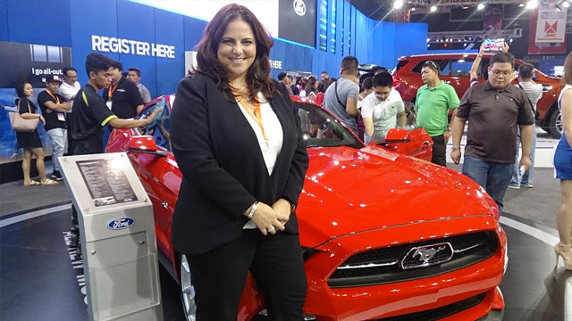 LIVING THE LIFE. Ford Philippines managing director Kay Hart believes customers are increasingly looking for vehicles that conform to their lifestyles.