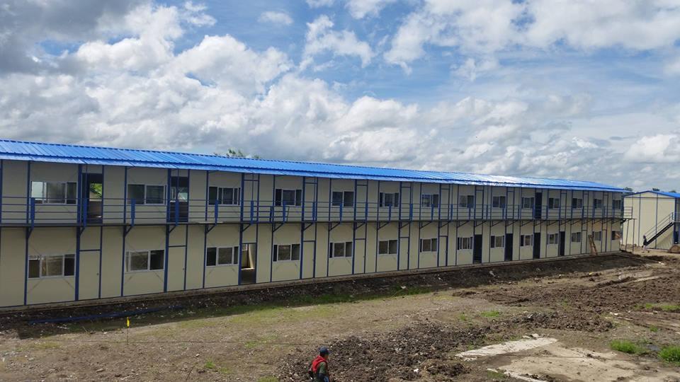 MEGA-FACILITY. A large-capacity drug rehabilitation center under construction in Nueva Ecija. Photo by DOH