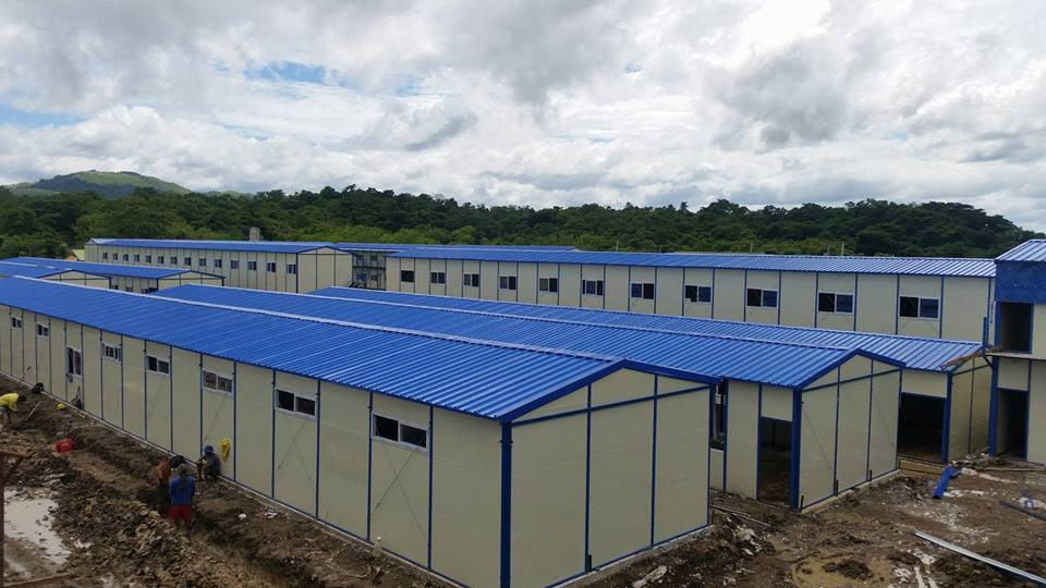 REHABILITATION FACILITY. The treatment and rehabilitation center in Fort Magsaysay in Nueva Ecija was built in 2016 to house up to 10,000 drug dependents then expected to surrender to the government. It is now being eyed as a quarantine area for Filipinos returning from China amid an epidemic of the novel coronavirus. File photo from the Department of Health