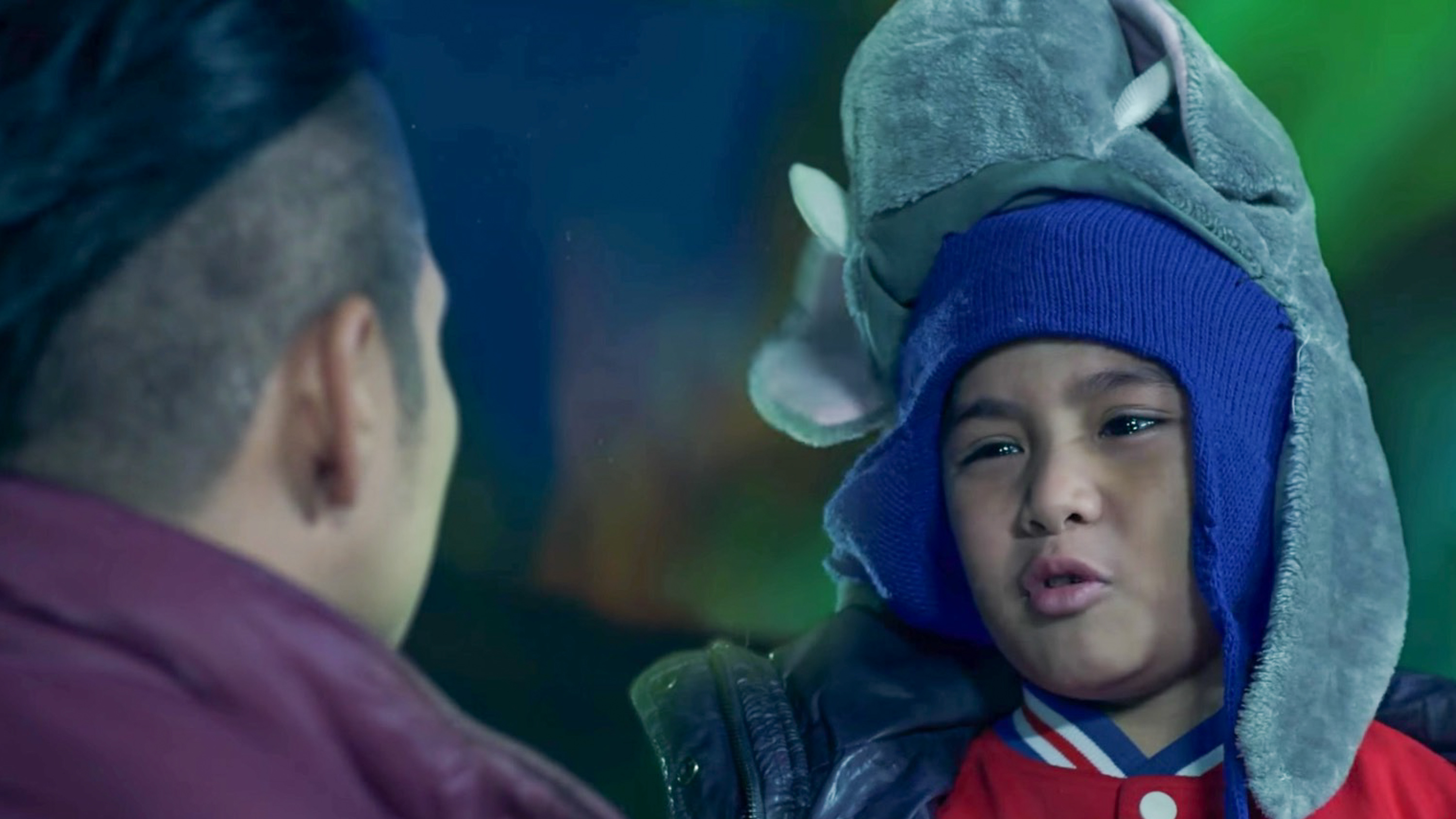 RAIKKO MATEO. The young actor plays Piolo Pascual's son in 'Northern Lights.' Screengrab from YouTube/ABS-CBN Star Cinema