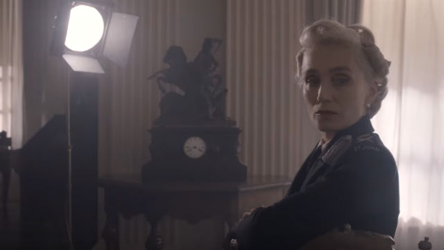 SUPPORTIVE WIFE. Kristin Scott Thomas plays Churchill's wife Clementine.