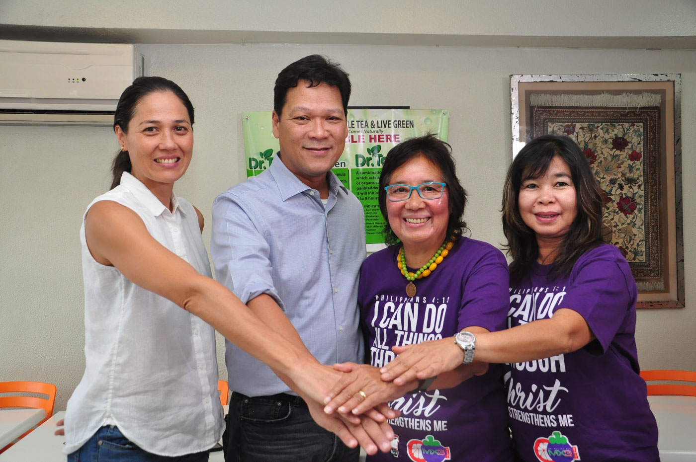 EMBATTLED. PSI and PSL finally team up together as Susan Papa puts her trust in Ral Rosario. Photo by First Tier Media