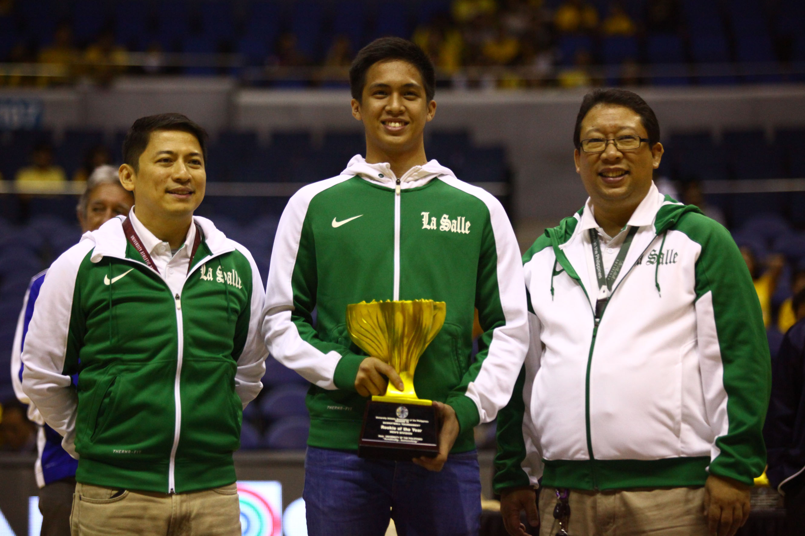 BRIGHT FUTURE. Andrei Caracut wins Rookie of the Year despite dealing with a health issue this season. Photo by Josh Albelda/Rappler
