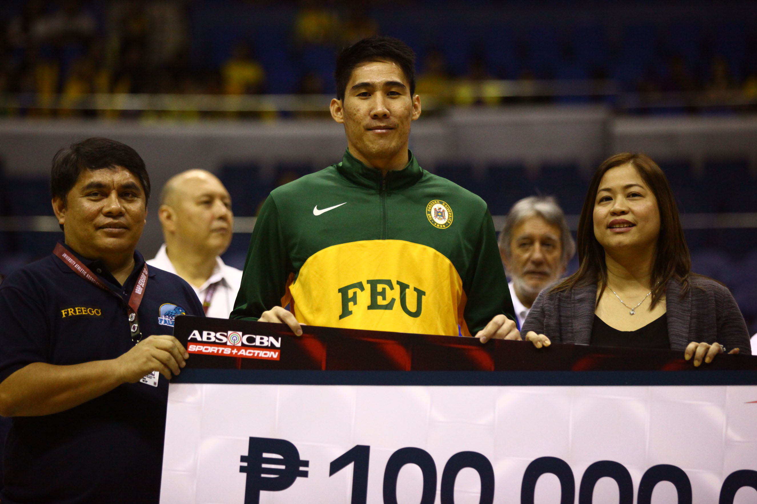BIG MAC. The FEU stud is the lone player from his team to win an award. Photo by Josh Albelda/Rappler