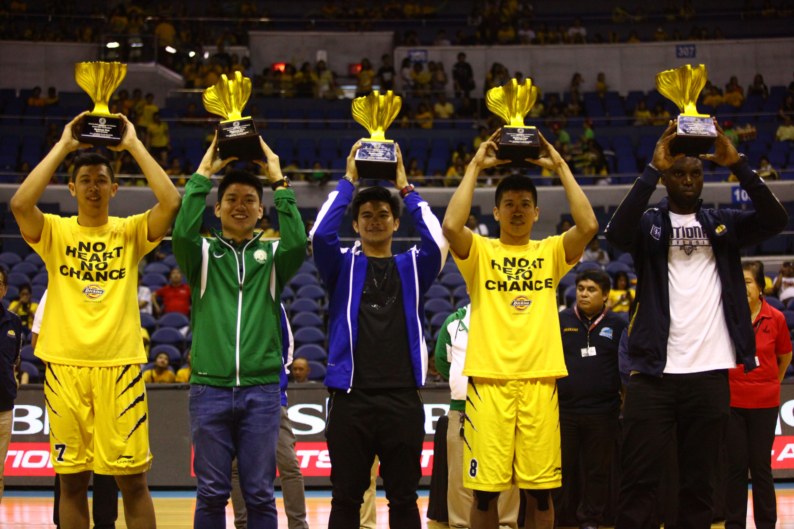 TOP 5. Here are the athletes that performed best this UAAP season. Photo by Josh Albelda/Rappler