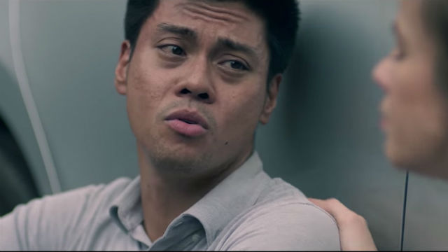 HEARTBREAK. Dave (Jerald) is devastated after his girlfriend tells him she wants to breakup with him.