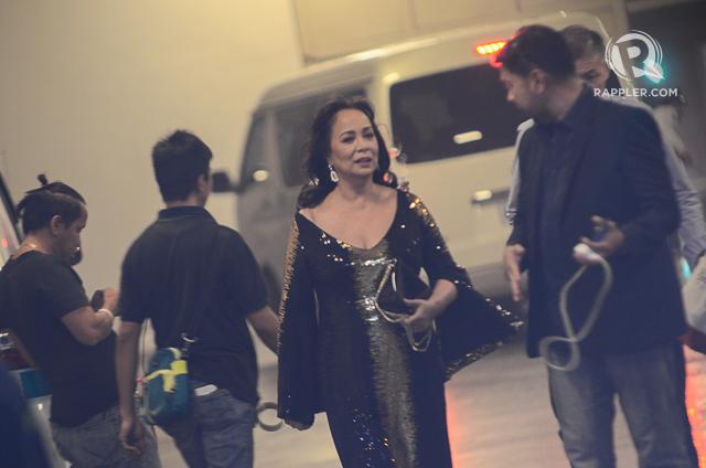 GLORIA DIAZ. Miss Universe 1969 Gloria Diaz watches the Binibining Pilipinas 2016 coronation night live at the Araneta Coliseum. Photo by Alecs Ongcal/Rappler