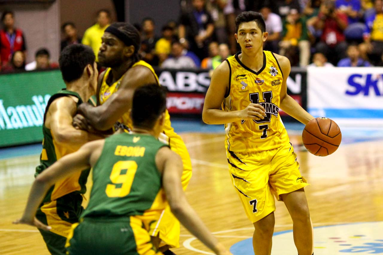 SEASON SWEEP. UST was the reason for two of FEU's 3 losses in the eliminations. Photo by Josh Albelda/Rappler