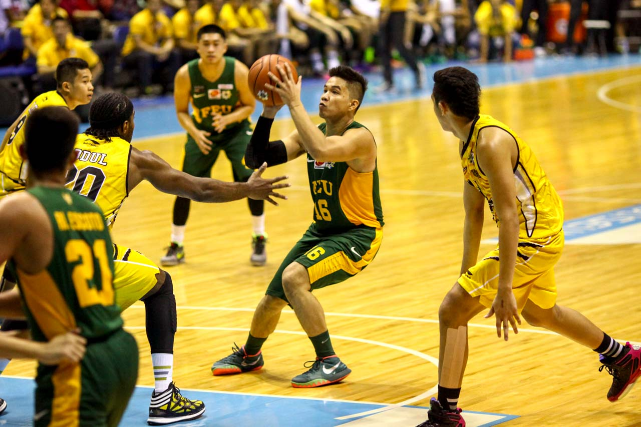 BREAKING THROUGH. Will this be the year FEU finally wins a title again? Photo by Josh Albelda/Rappler