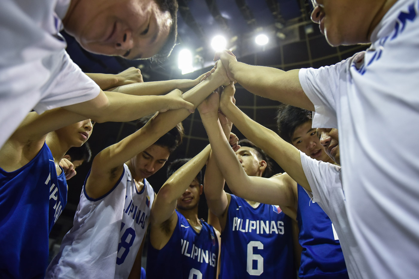 Batang Gilas values teamwork and is working on strengthening their camaraderie. Photo by LeAnne Jazul/Rappler