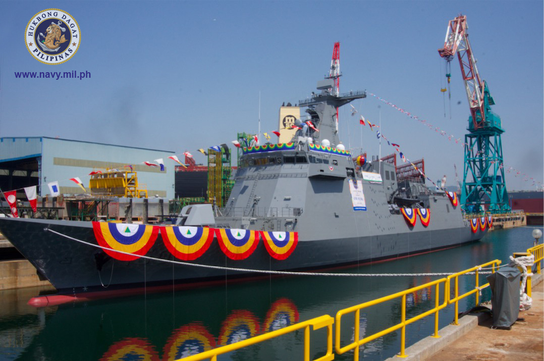 FIRST FRIGATE. The BRP Jose Rizal will be the Philippine Navy's first frigate and missile-capable warship. It is expected to arrive from South Korea in April 2020. Photo from the Philippine Navy