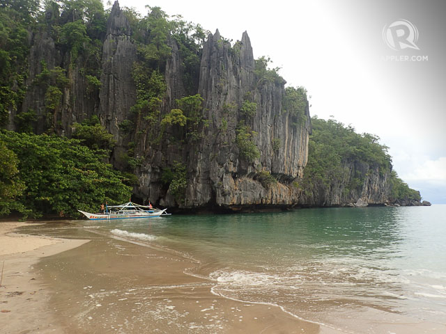 BEAUTIFUL ANY SEASON. Puerto Princesa has nice beaches like this one near the Underground River