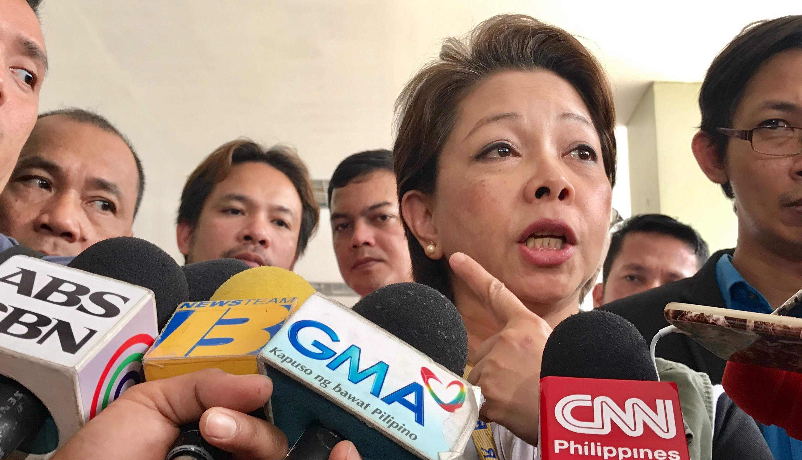 BAN PUSHES THROUGH. LTFRB board member Aileen Lizada says they are bound by their order. Photo by Rambo Talabong/Rappler