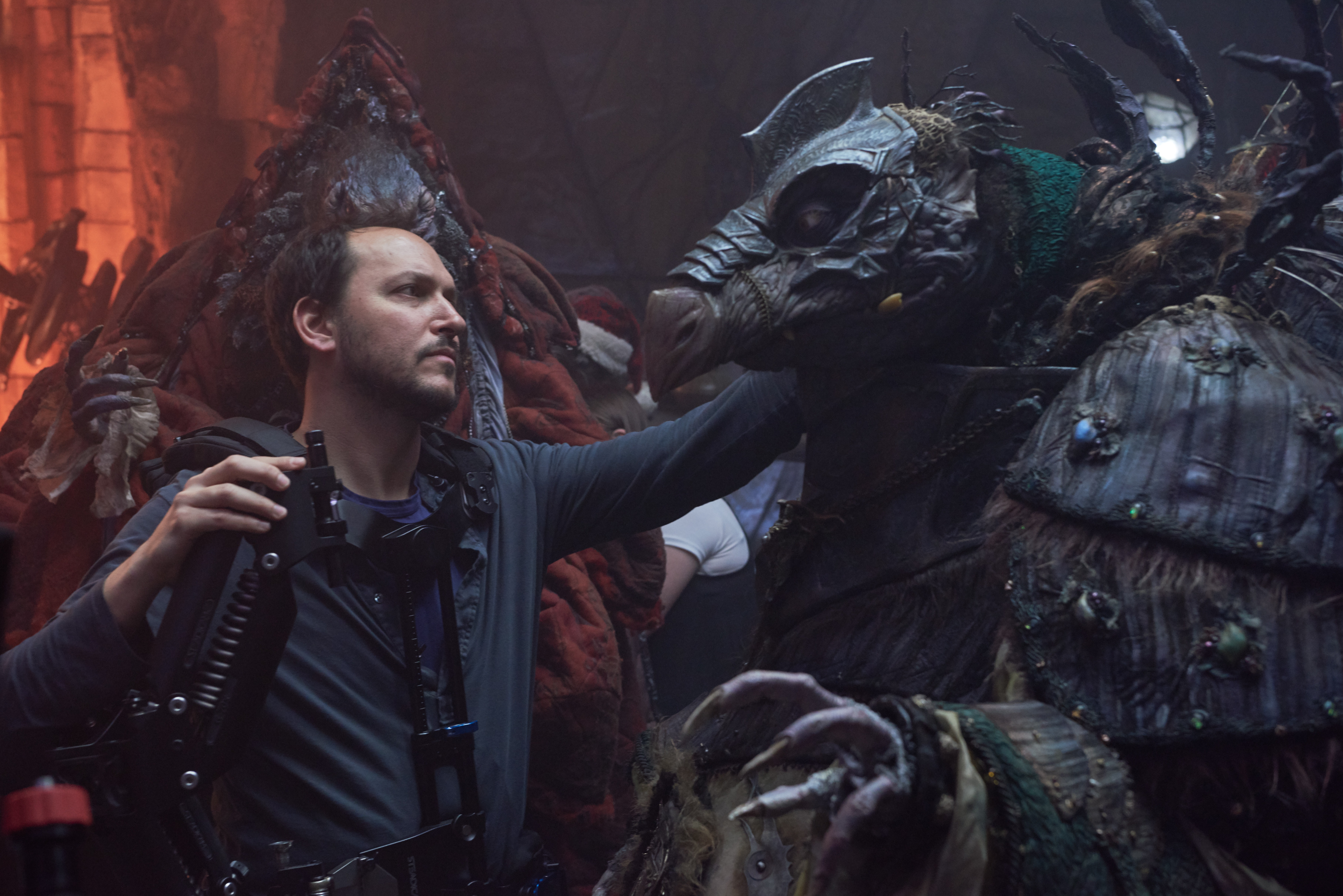 DIRECTOR. Louis Leterrier directed all 10 episodes of 'The Dark Crystal' for Netflix. Photo courtesy of Netflix