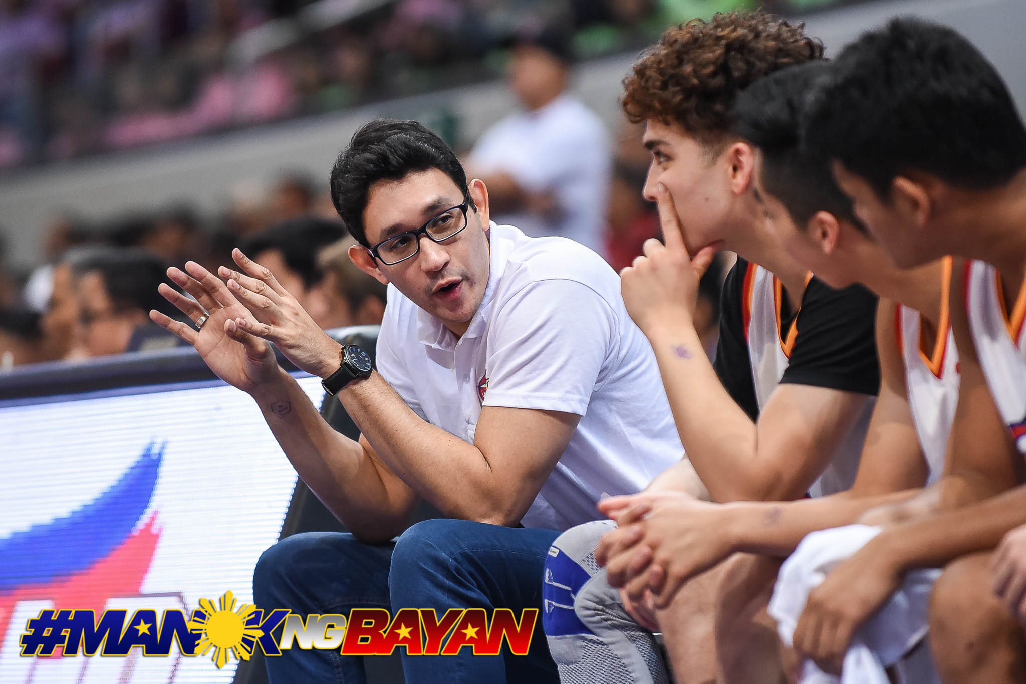 MENTOR. Former UST standout Dylan Ababou relishes his coaching experience. Photo from NBTC