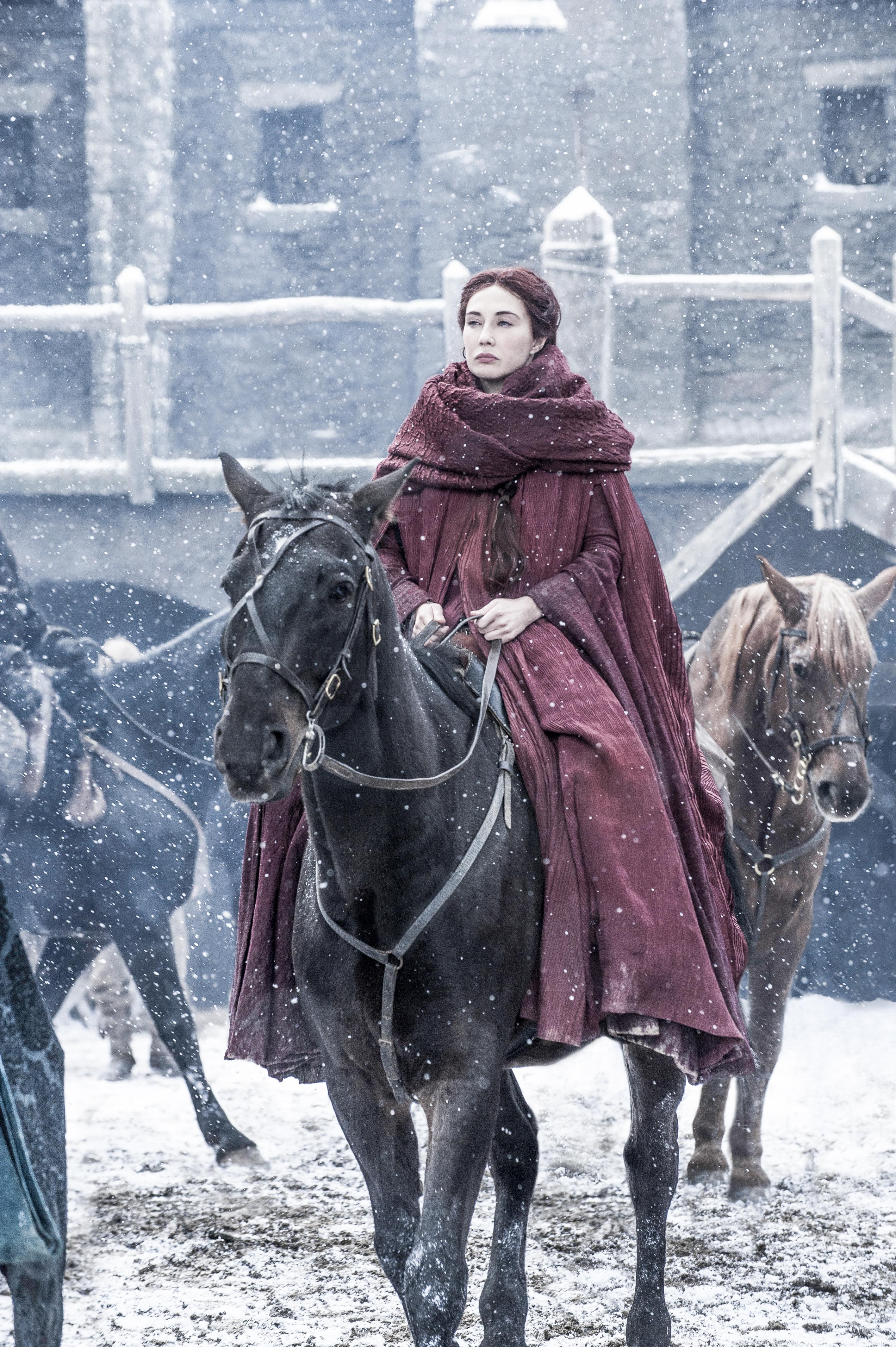 Carice van Houten as Melisandre. Photo by Helen Sloan/HBO
