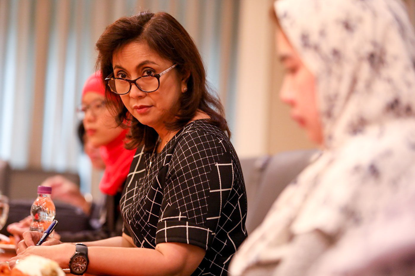 HUMAN RIGHTS LAWYER. Robredo supports the endeavors of the Commission on Human Rights. Photo by OVP