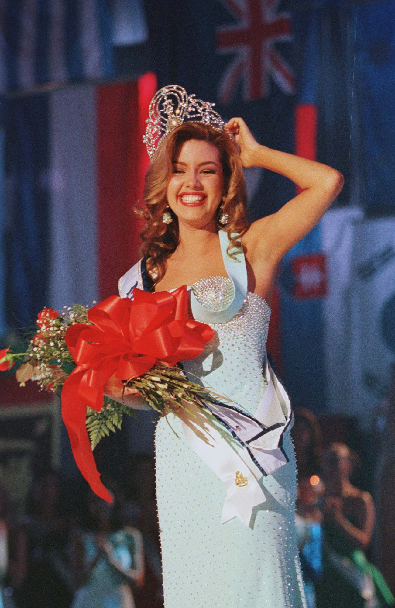 Miss Universe 1996 Alicia Machado from Venezuela