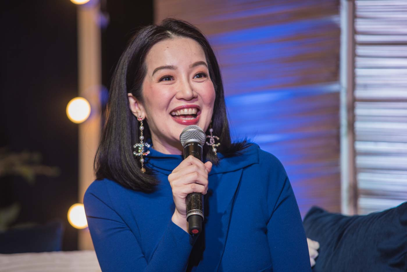 OVER IT. By November 2019, Kris Aquino seems to have put her feud with Nicko Falcis behind her. File photo by Rob Reyes/Rappler