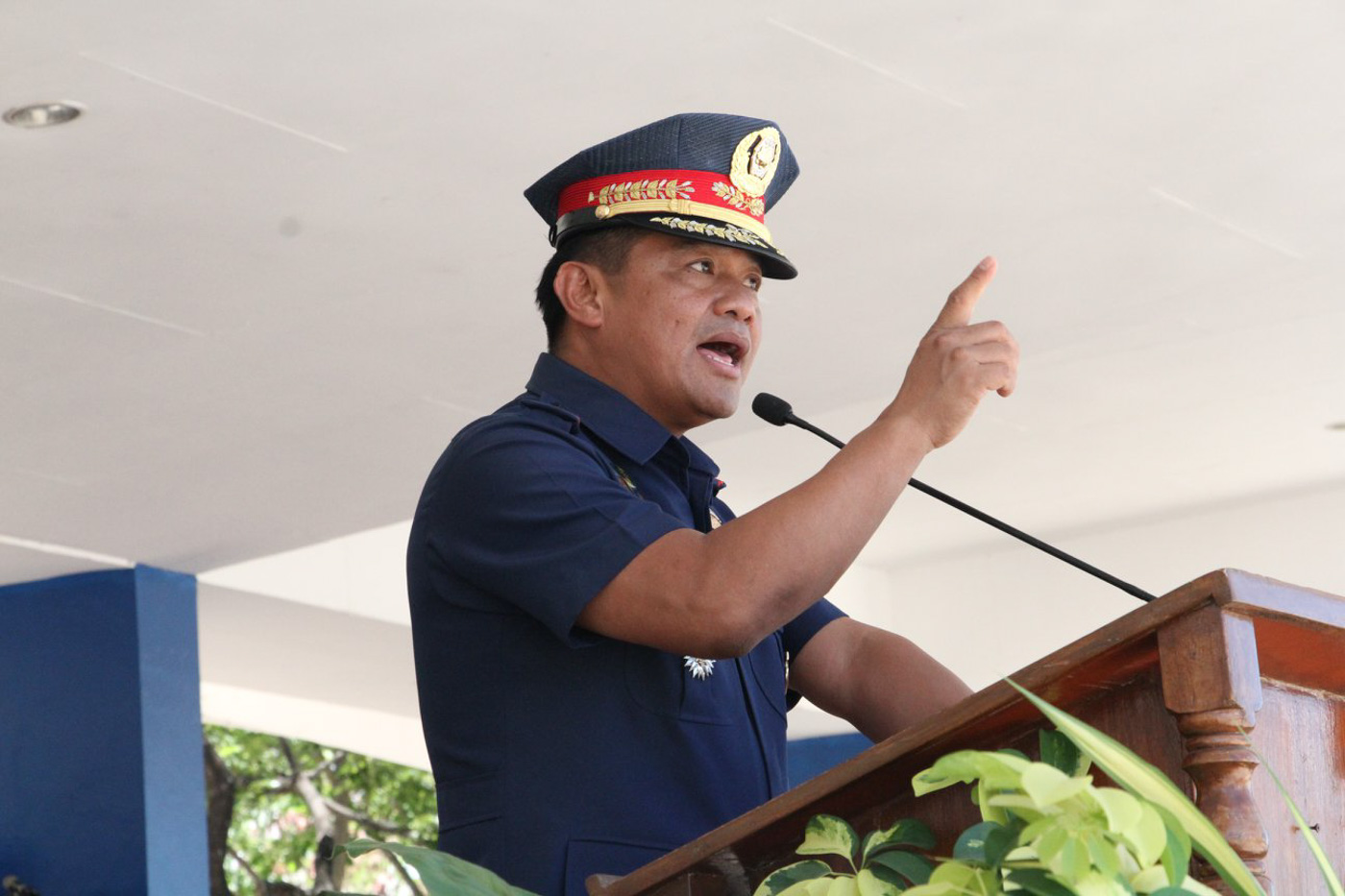 OPERATION MAN. Lieutenant General Camilo Cascolan is a co-author of Oplan Double Barrel. Photo by PIO NCRPO