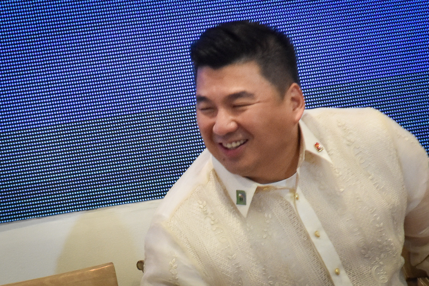 ONE-TIME? Dennis Uy says the restated items are non-cash and non-recurring. 'Thus, the prospective profitability of 2GO remains strong.' Photo by LeAnne Jazul/Rappler