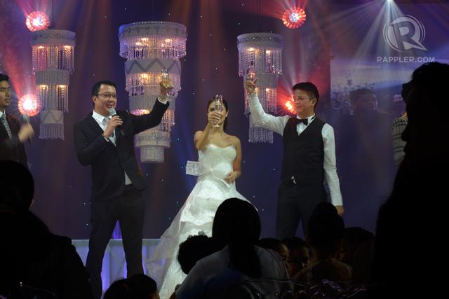 LAVISH. A file photo of the wedding reception of Heart Evangelista and Senator Chiz Escudero. File photo by LeAnne Jazul/Rappler