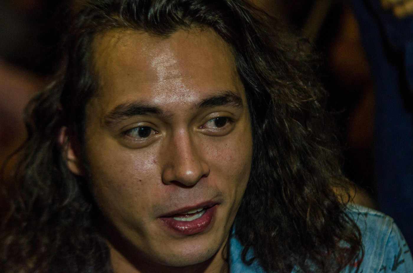 ICONIC VILLAIN. Jake Cuenca tests his acting skills as Lizardo in the movie