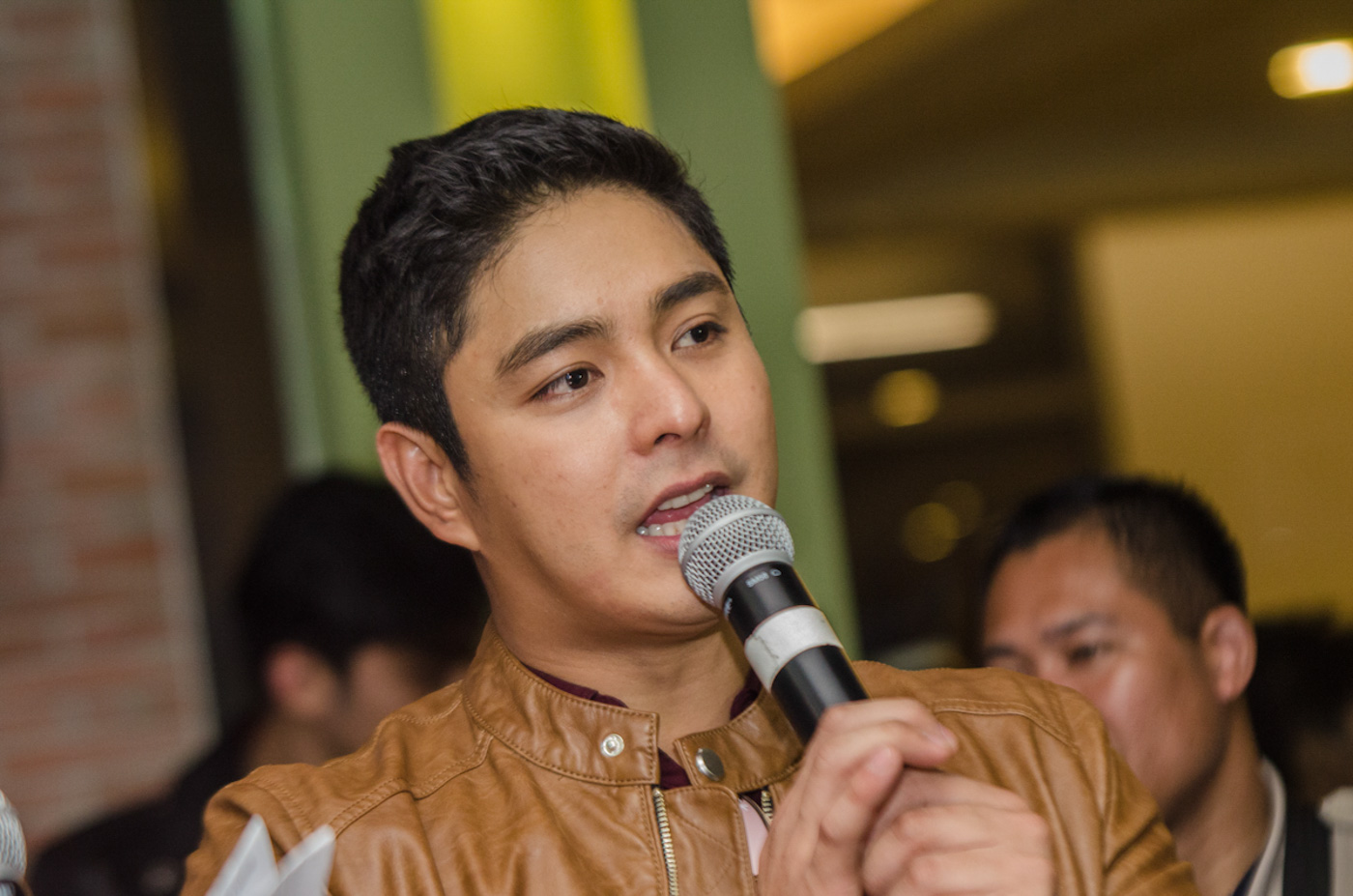 DIRECTORIAL DEBUT. Coco Martin not only plays the lead role, but also directed, produced, and co-wrote the movie 'Ang Panday.' Photo by Rob Reyes/Rappler
