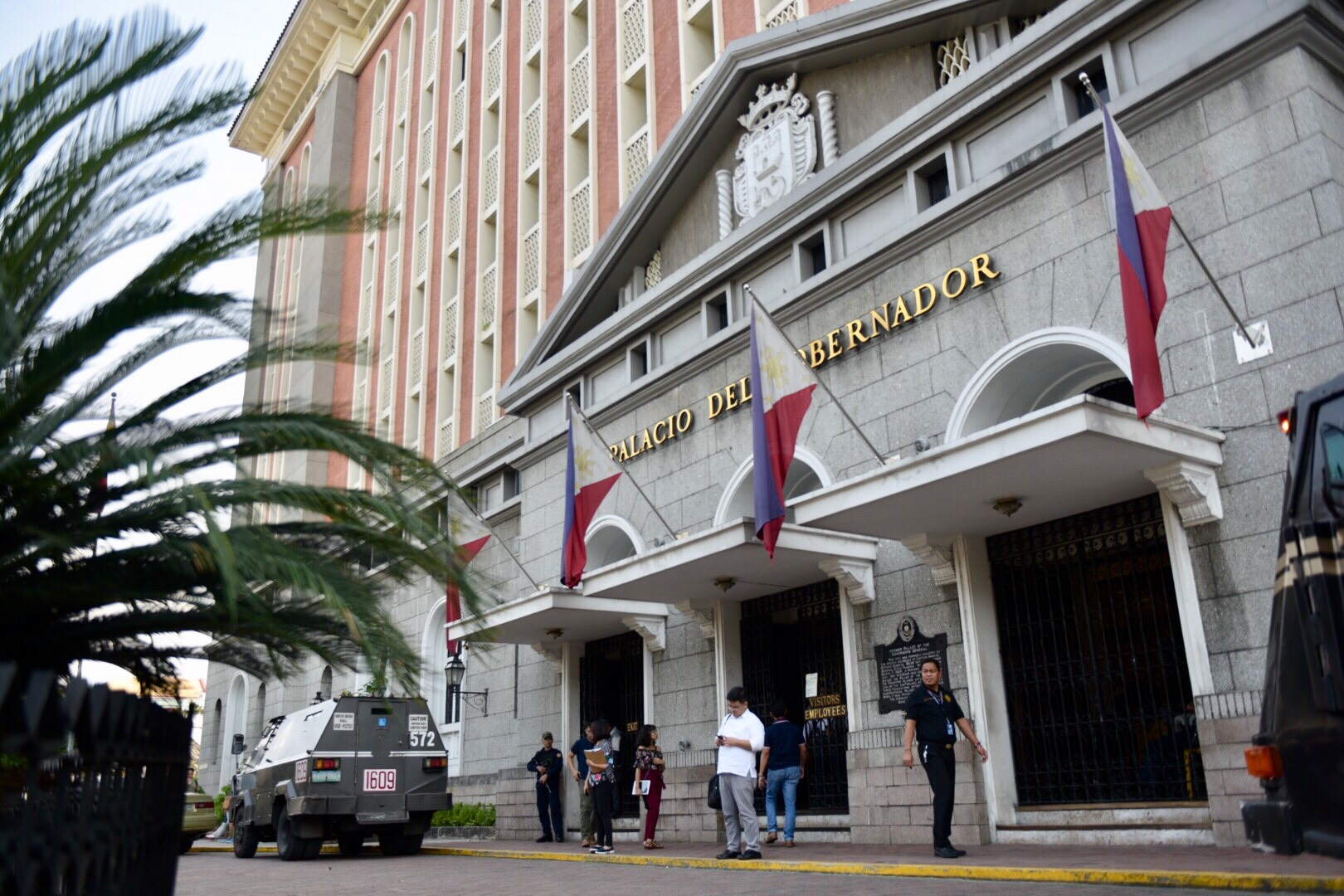 POLL BODY HEADQUARTERS. The Commission on Elections (Comelec) office at the Palacio del Gobernador in Intramuros, Manila. Photo by LeAnne Jazul/Rappler