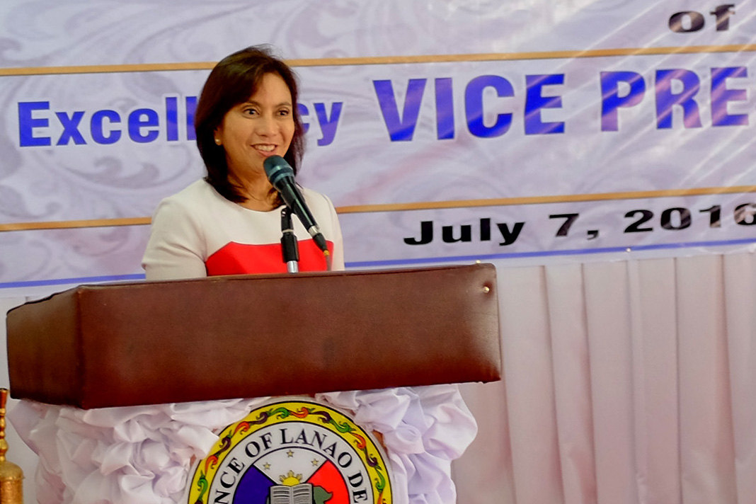 HALLUCINATING. The camp of Vice President Leni Robredo says the camp of defeated vice presidential candidate Ferdinand Marcos is 'hallucinating' for claiming that data in unused SD cards prove poll fraud. File photo by Bobby Lagsa/Rappler