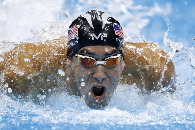 FRUSTRATION. Michael Phelps expresses frustration over possibility of his Rio Olympics rivals using drugs. File photo by Odd Andersen/AFP