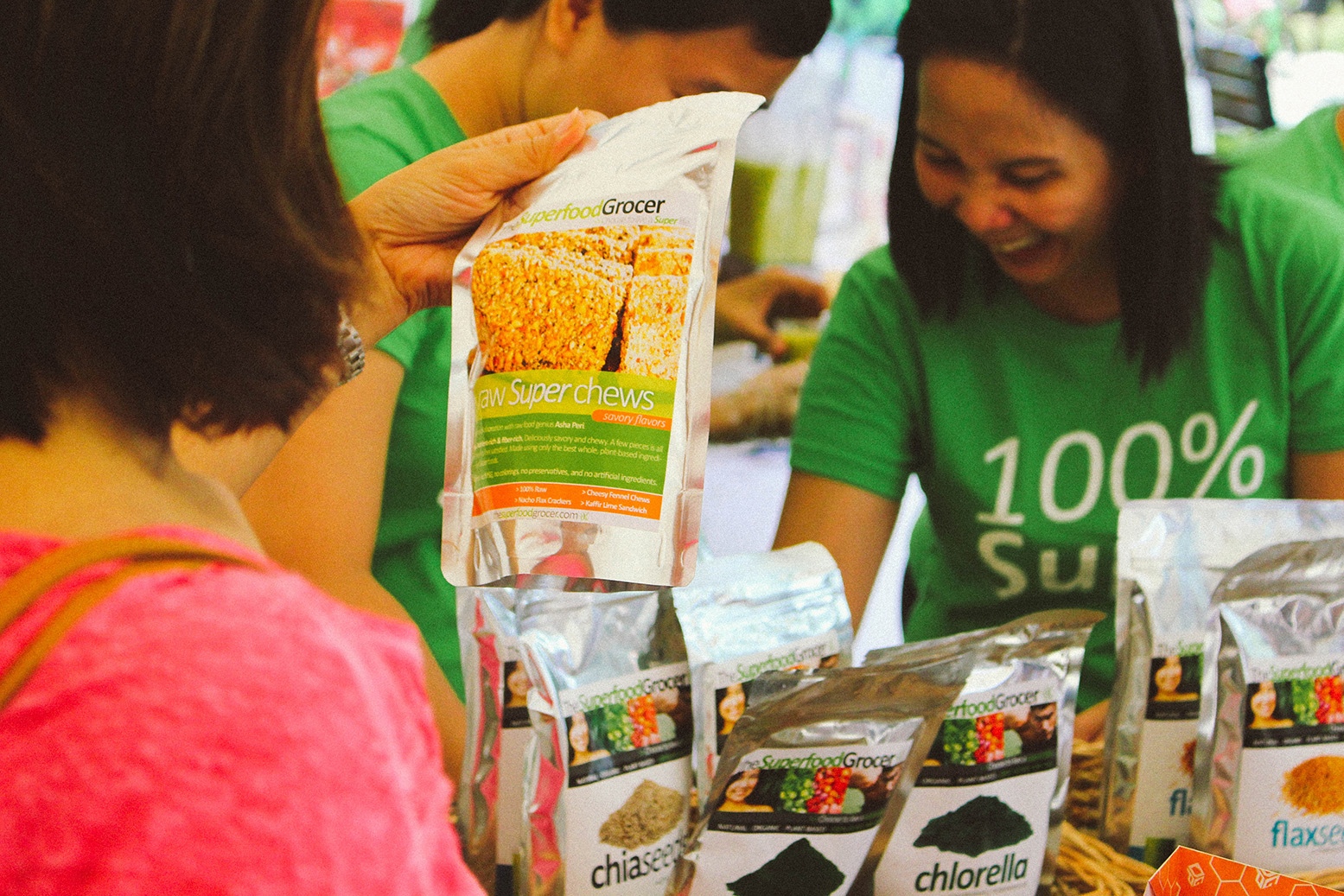 HELPING PEOPLE. u201cWhen we started The Superfood Grocer, setting up a business was interestingly not our primary objective. Rather, we saw a genuine need that was close to us and we passionately wanted to address this and reach (and hopefully help) as many people as we can,u201d Carmela Cancio says
