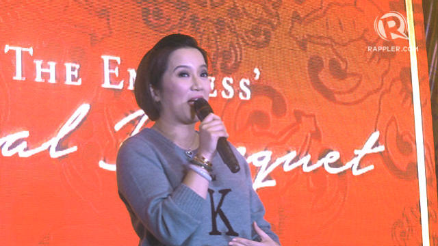 DEFENDING PNOY. Kris Aquino answers angry social media users on her brother's absence at the arrival honors for the fallen SAF 44. File photo by Rappler