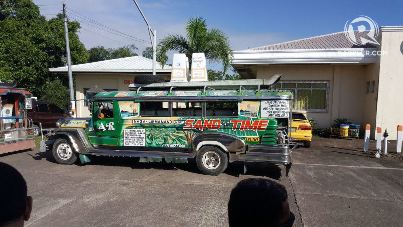 TRANSPORT. The ballot boxes are brought to the capitol aboard jeepneys and trucks. Photo by OVP
