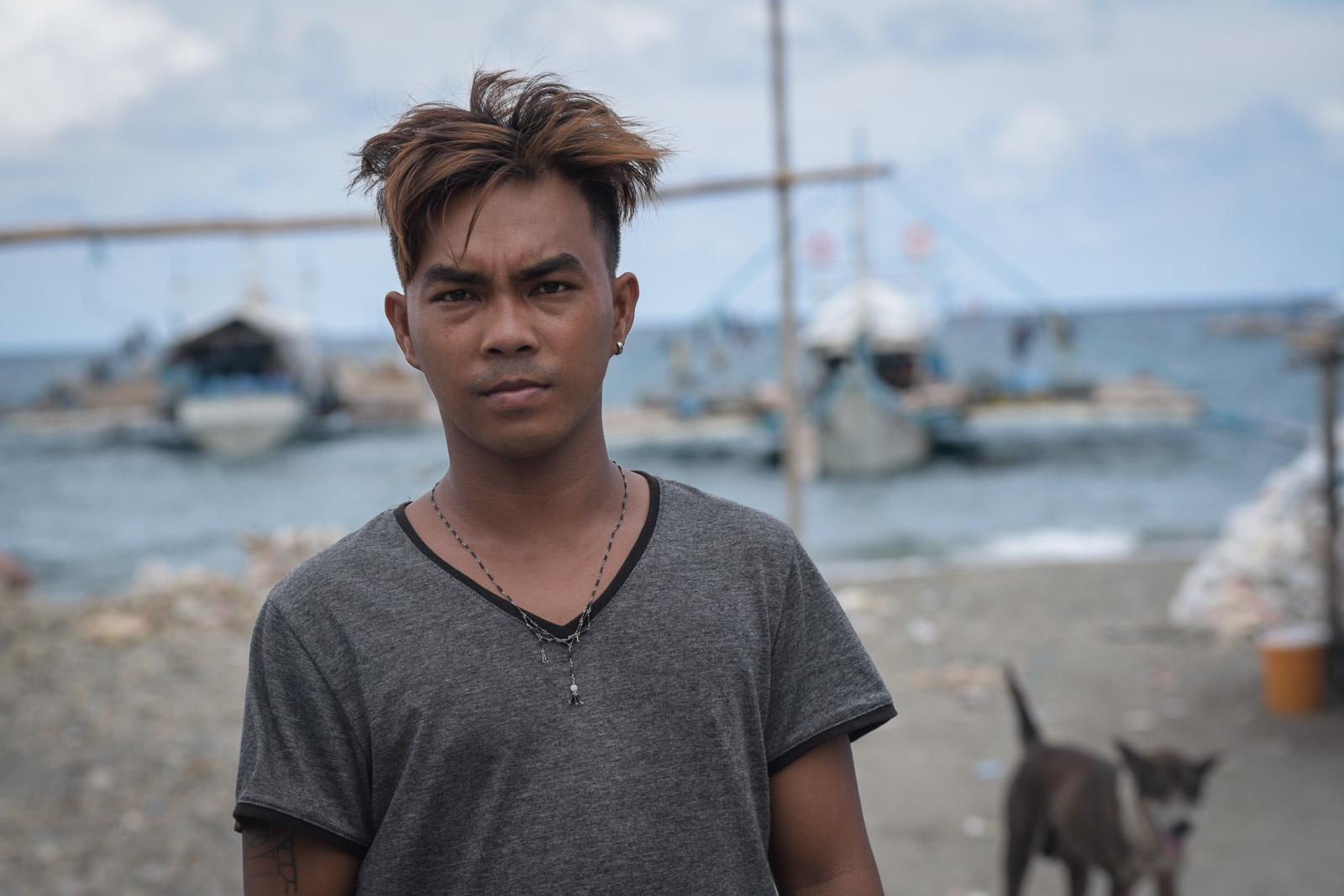 HERO AT SEA. Alvin dela Torre, cousin of Gem-Ver owner Felix dela Torre, volunteered to rescue the 22 fishermen of F/B Gem-Ver.
