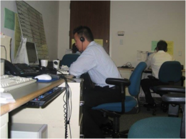 WHERE IT ALL STARTED. Kalibrr CEO Paul Rivera in 2003 as a call center agent for Fisher Investments in San Francisco, California. Photo via Kalibrr