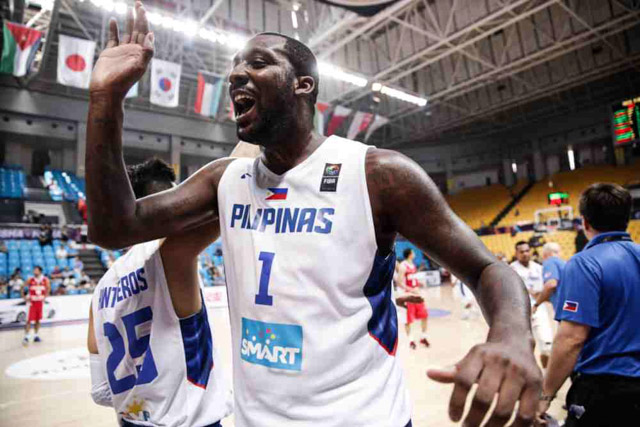 PUSO. Blatche says he enjoyed playing with all his teammates. File photo by FIBA