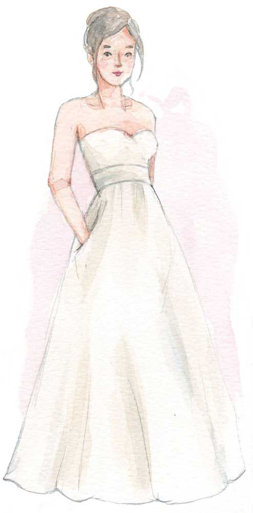 Say Yes How To Find The Perfect Wedding Dress For Your Body Type,Short White Plus Size Wedding Dresses
