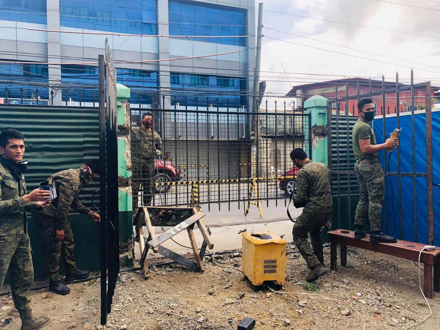 Through the concerted effort of the Inter-agency Task Force COVID-19, the 54th Engineer Brigade, and other stakeholders, Zamboanga City's COVID-19 Center is now ready to cater patients. Photo by Western Mindanao Command PIO