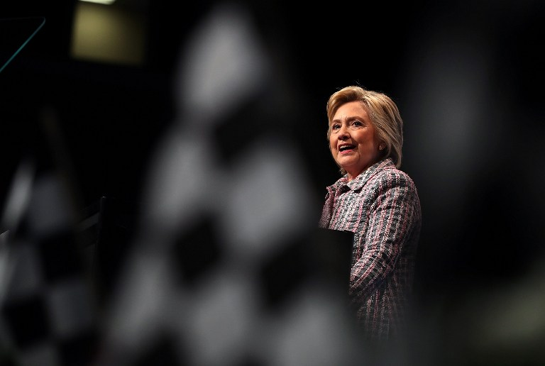AFTER ELECTIONS. Former secretary of state Hillary Clinton says she has no plans to run for office again. File photo by Justin Sullivan/Getty Images/AFP
