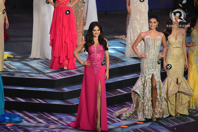 BARBIE DOLL. Ma. Ahtisa Manalo in a gown by Mikee Andrei. Photo by Rappler