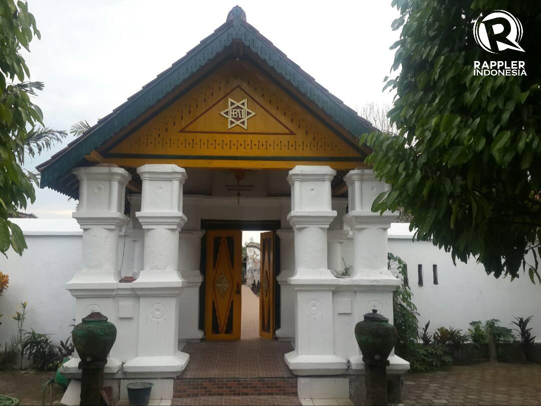 MAKAM. Gerbang masuk ke Kompleks Makam Pangeran Purboyo I di belakang Masjid Wotgaleh. Foto oleh Uni Lubis/Rappler