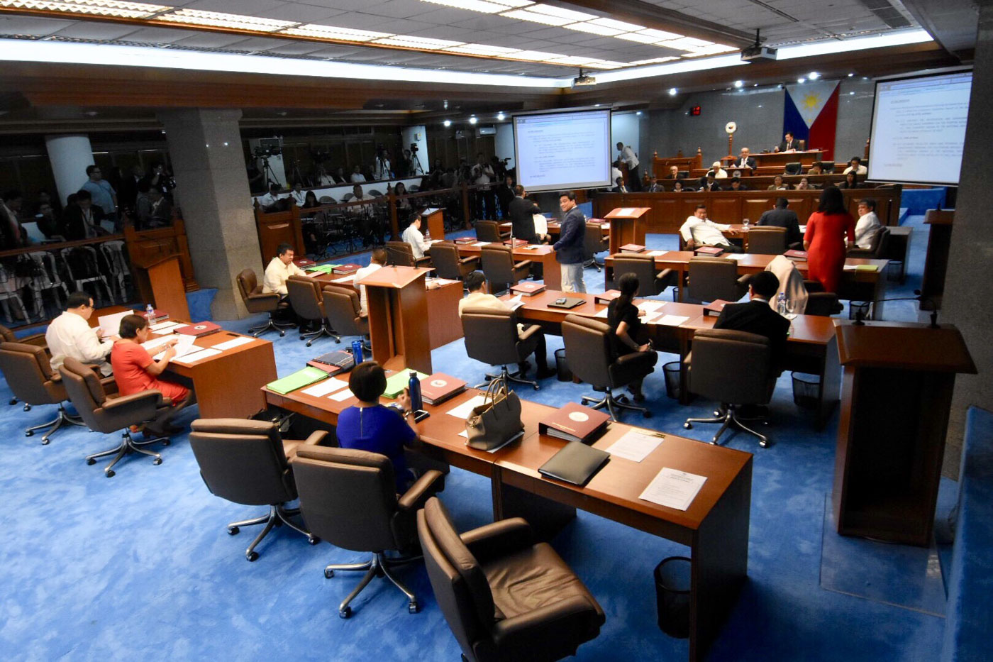 ADJOURNED. The 17th Congress adjourned on June 4. File photo by Angie de Silva/Rappler
