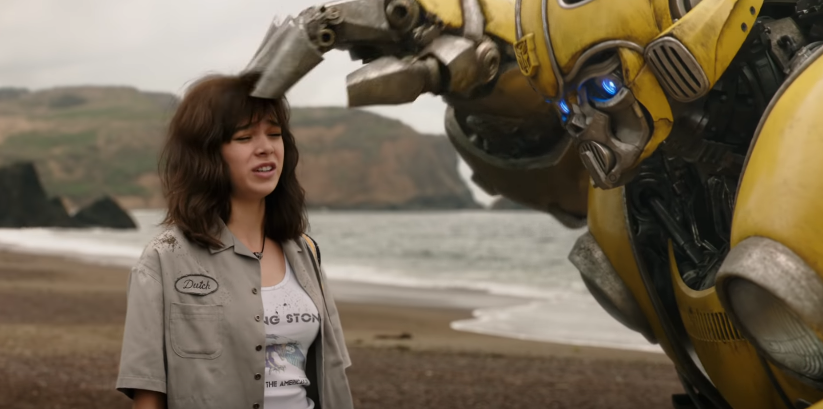 HUMAN FRIEND. Bumblebee finds a friend in Charlie (Hailee Steinfeld), who helps him in his mission on earth.